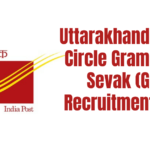 Uttarakhand Postal Circle Gramin Dak Sevak (GDS) Recruitment 2020